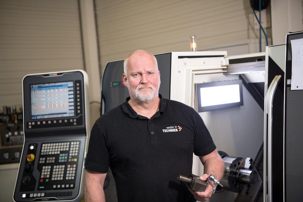 Nieuw kans voor Mark van Maaren als CNC Operator