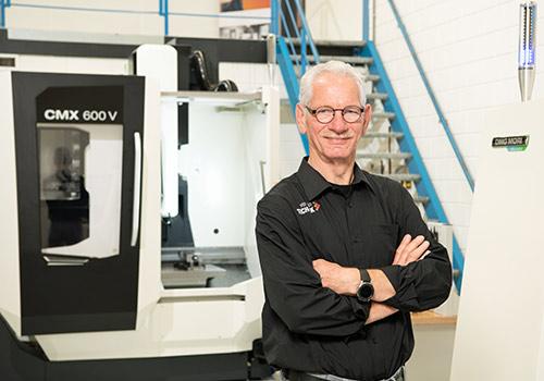 Ben Schel, docent Verder in Techniek